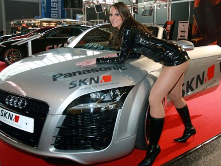Classy Girl Driving Audi Ridin Girls