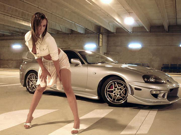 Toyota supra girl edit 7