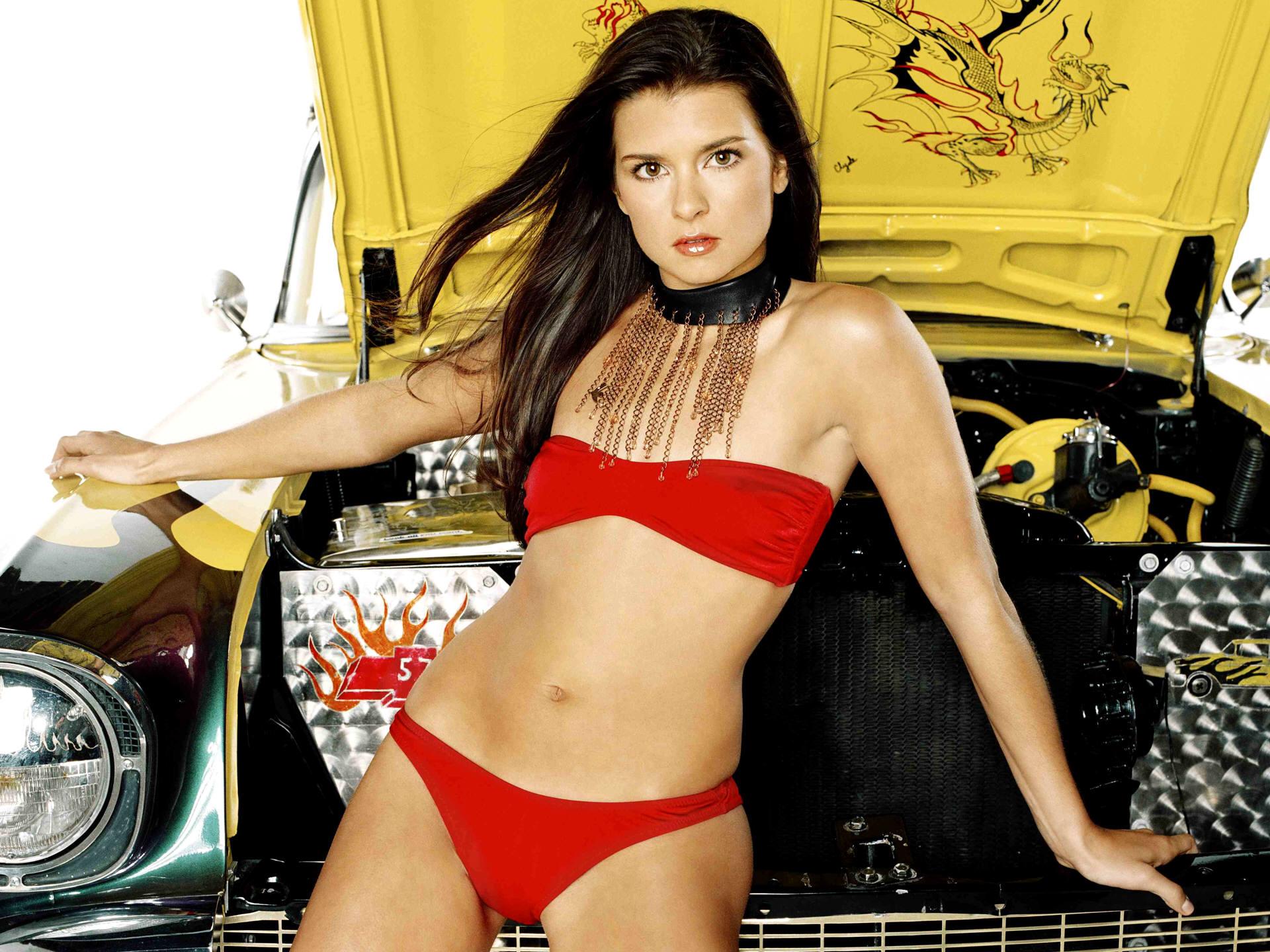 Danica patrick clivage sexy