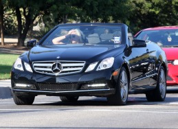 Exclusive... Demi Lovato Fills Up Her New Convertible