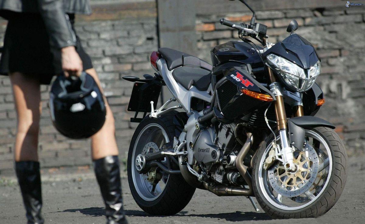 benelli tnt 1130, girl motobiker 176070