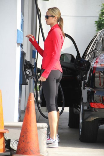 Stacy Keibler in Spandex