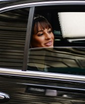 Lea+Michele+Glee+Films+in+NYC+01