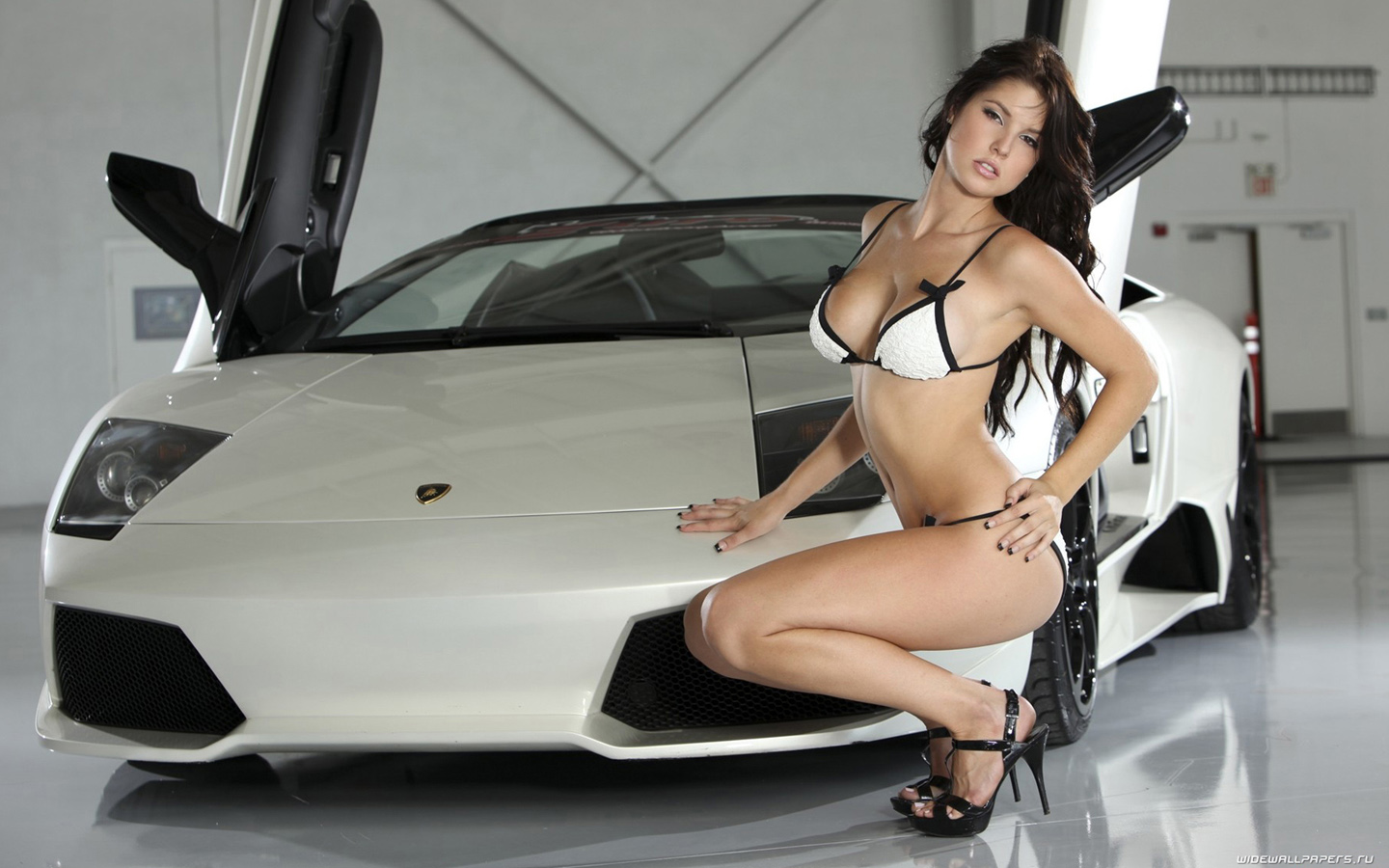 Lamborghini Gallardo Ridingirls