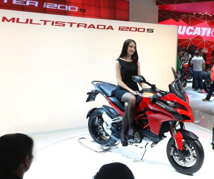 Ducati Multistrada on Ridin'Girls Blog